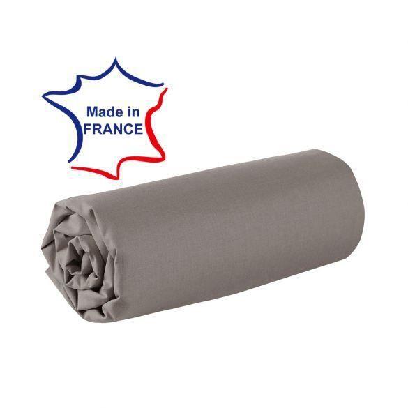 Drap housse 200x200 cm 100% coton 57/fils