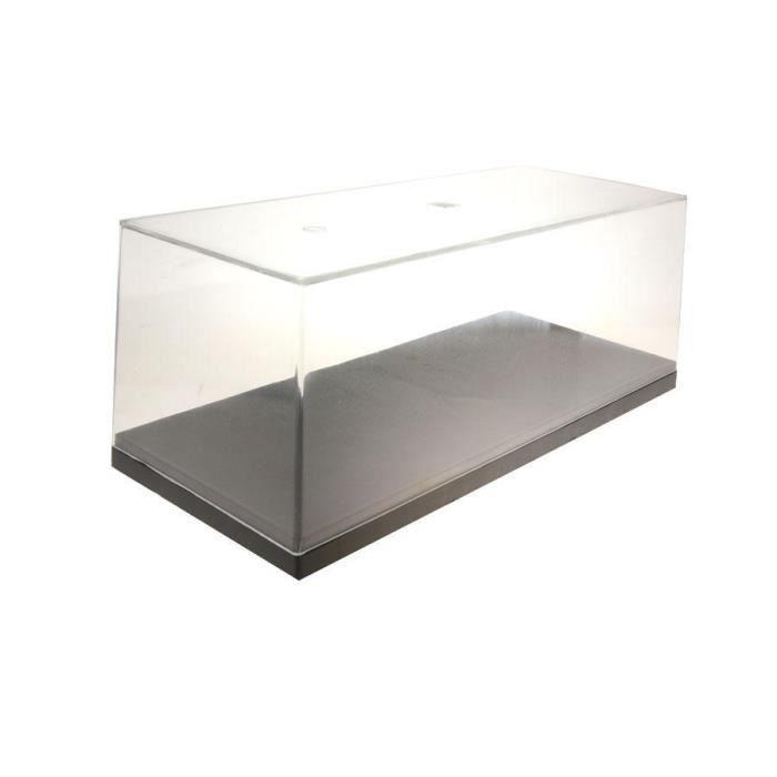 Boites Vitrines Cristal Transparentes En Plexiglass Pour Miniatures 1 24 Box For Diecast Achat Vente Vitrine Boites Vitrines Cristal Cdiscount