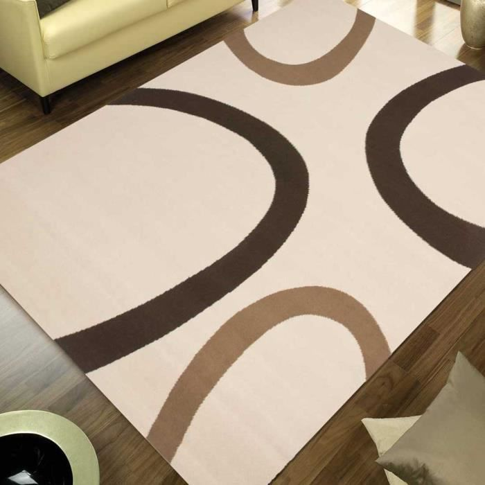 tapis pas cher premier prix tempo beige 160x230 en polypropyl ne achat vente tapis cdiscount. Black Bedroom Furniture Sets. Home Design Ideas