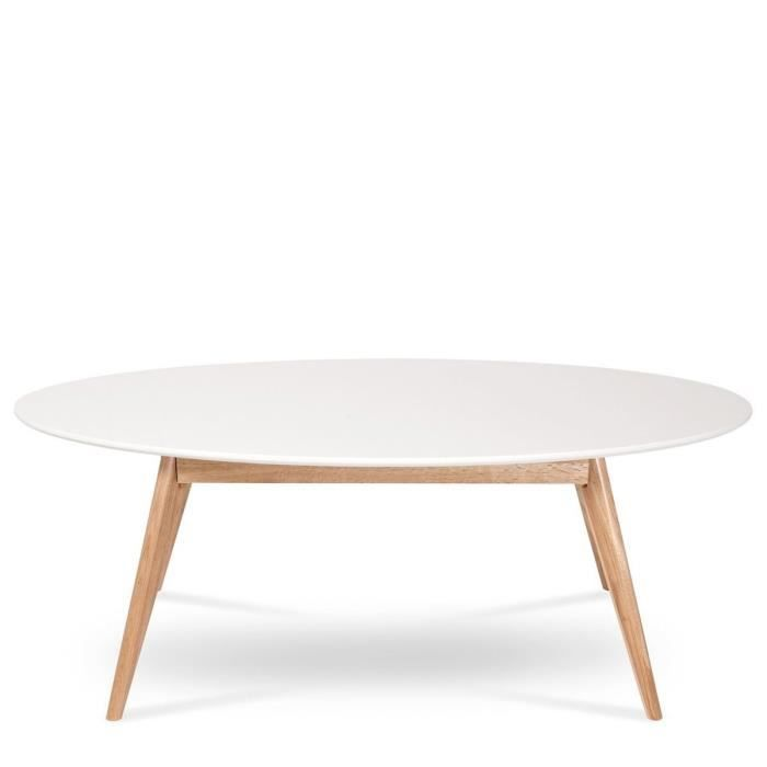 Table Basse Ovale Design Scandinave Skoll Coule Achat Vente Table Basse Table Basse Ovale