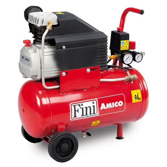 Compresseur air comprim fini amico 25 2400 24 l 2 hp - Compresseur air comprime ...