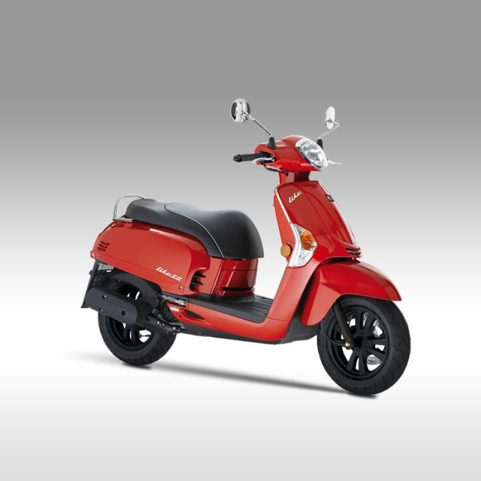 kymco like 50cc 2t rouge achat vente scooter kymco. Black Bedroom Furniture Sets. Home Design Ideas