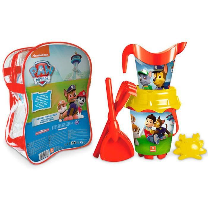 pat patrouille paw patrol jeux de plage achat vente jouet de plage cdiscount. Black Bedroom Furniture Sets. Home Design Ideas