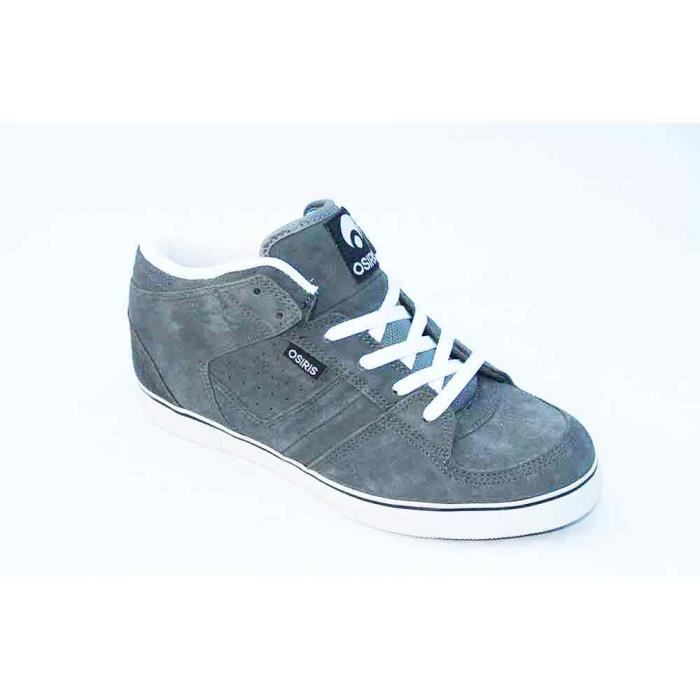 OSIRIS Chino Mid Charcoal White FqeVtfOv
