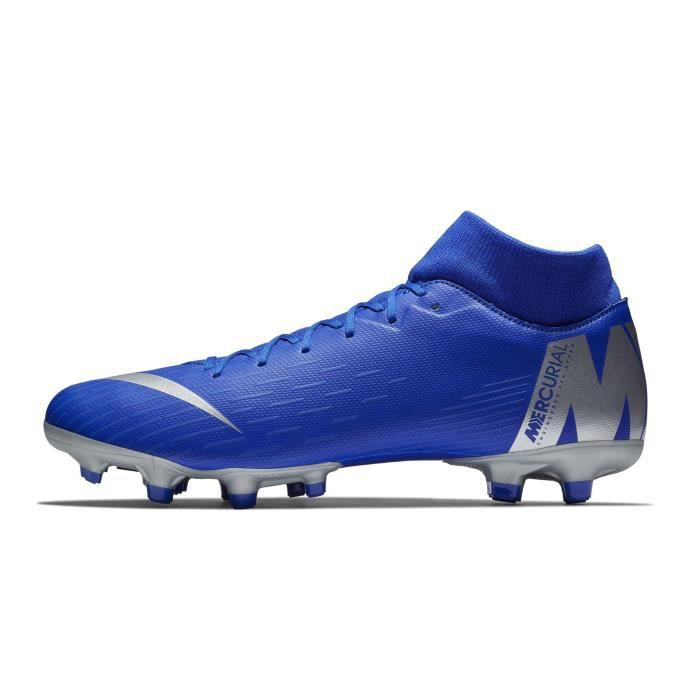 competitive price 8cc04 17268 Chaussures football Nike Mercurial Superfly VI Academy DF MG Bleu