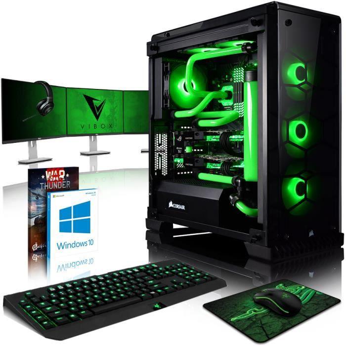 UNITÉ CENTRALE + ÉCRAN VIBOX Venom GL770-39 PC Gamer Ordinateur avec Jeu