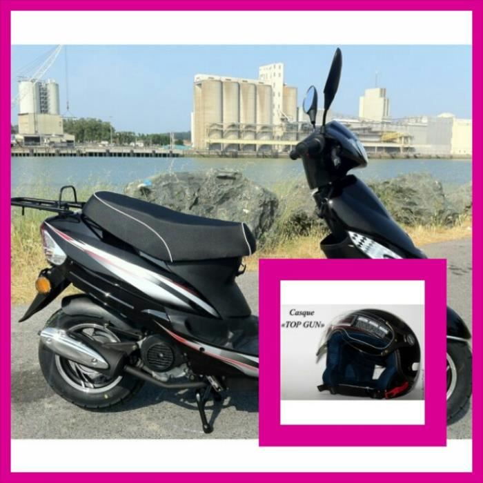 scooter 50cc carte grise casque antivol achat. Black Bedroom Furniture Sets. Home Design Ideas