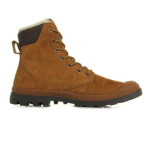 BOTTINE Boots Palladium Pampa Sport Wps Mahogany Chocolate. \u2039\u203a