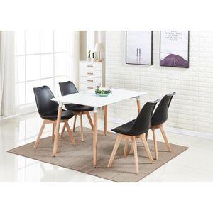 TABLE À MANGER COMPLÈTE Salle a manger LORENZO,Ensemble complete table et