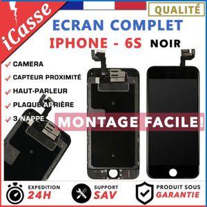 ECRAN DE TÉLÉPHONE VITRE TACTILE + ECRAN LCD COMPLET IPHONE 6S NOIR +