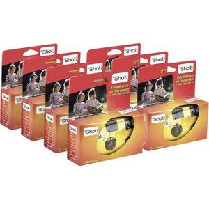 PACK APPAREIL JETABLE appareil photo jetable Topshot 400 Flash, lot de 7