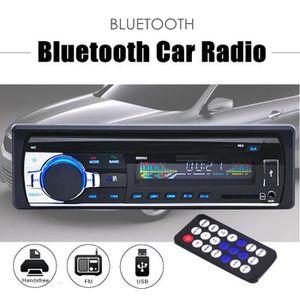 AUTORADIO Bluetooth Autoradio Voiture Dash Stéréo Radio 1DIN