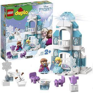 ASSEMBLAGE CONSTRUCTION LEGO DUPLO Disney Princess - Le château de la Rein
