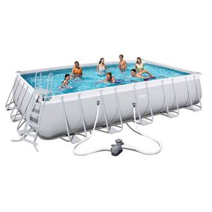 Piscine autoport e achat vente piscine autoport e pas for Piscine tubulaire rectangulaire intex 7 32x3 66x1 32 m