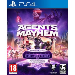 JEU PS4 AGENTS OF MAYHEM PS4