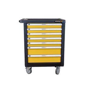 DESSERTE CHANTIER Servante d'atelier PRO 7 tiroirs - 173 outils