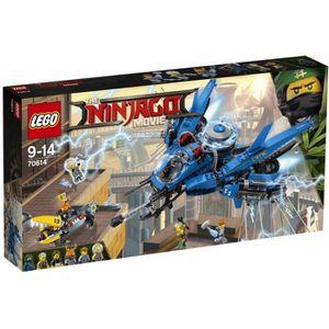 ASSEMBLAGE CONSTRUCTION LEGO® NINJAGO® LE FILM™ 70614 Le Jet supersonique