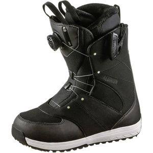 BOTTINE SALOMON IVY BOA SJ Boot 2020 black-black-pale lime