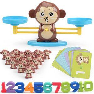 Frog Balance des Maths Jeu comptage Jouets Solde math/ématiques Blocs Nombre Cartes Jouets /éducatifs pour Les Counting Jeu Brain Game