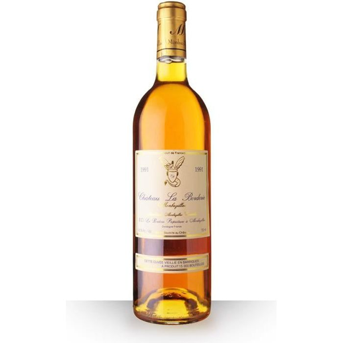 Château la Borderie 1991 AOC Monbazillac - 75cl - Vin Blanc