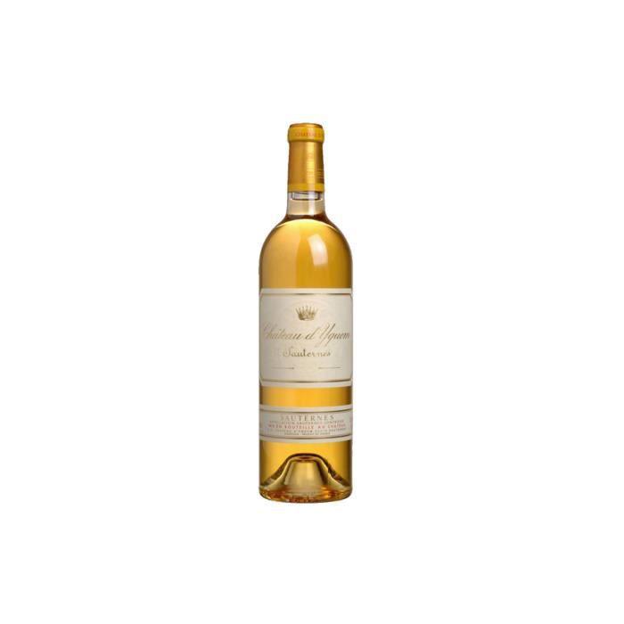 X1 Château d'Yquem 2016 75 cl AOC Sauternes 1er Cru Supérieur Vin Blanc Liquoreux