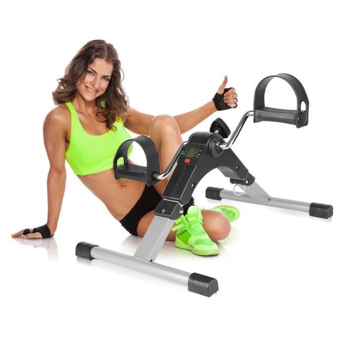Électronique exerciseur de vélos des bras et des jambes de pédalier . Folding