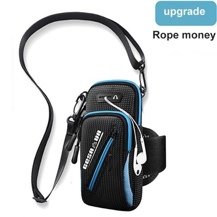 Sac de Sport à bras pour téléphone portable, sacoche de poignet multifonctionnelle inclinée étanche pour homme PK31021603
