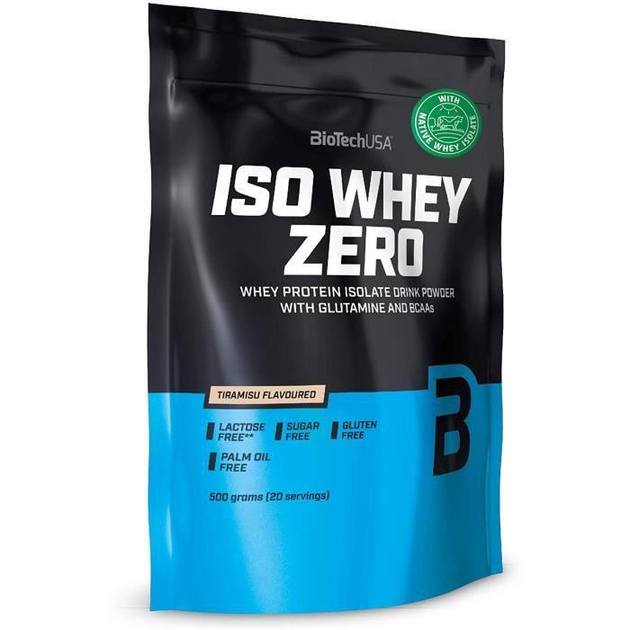 BiotechUSA Iso Whey Zero Tiramisu Sachet de 500 g 715