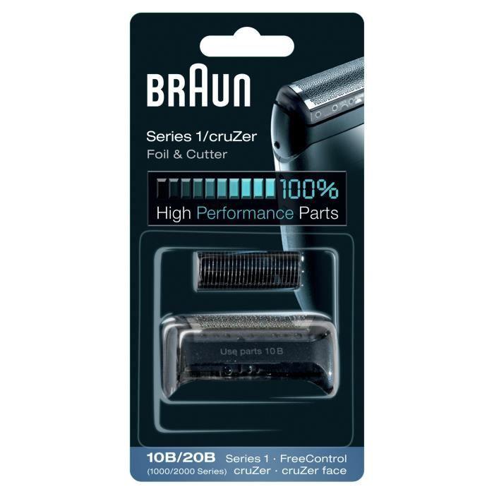 Braun 10B Series 1 190 Pièce de rechange Combi Pack