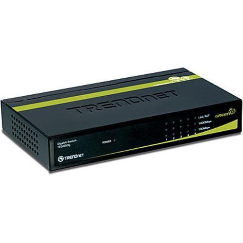 Trendnet TEG-S50G. Type de commutateur: Commutateur de réseau non géré.