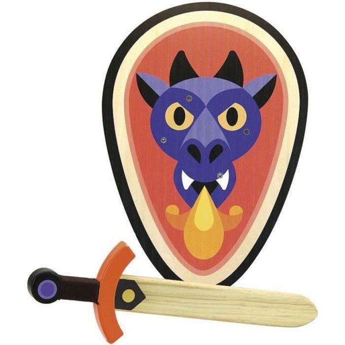Vilac - Set bouclier et épée Dragon - VILAC