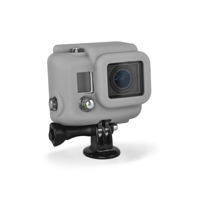 XSORIES Housse en Silicone pour GoPro HD HERO3 - Gris