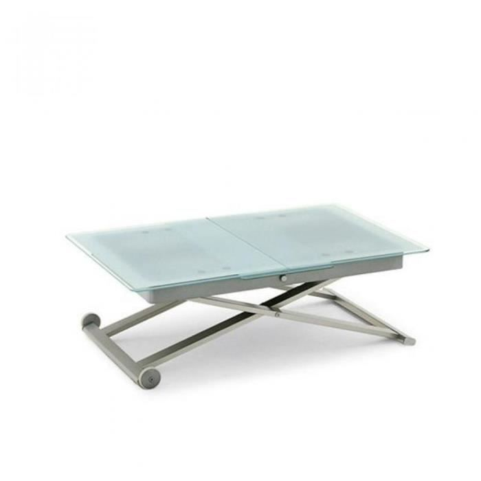 Table calligaris relevable extensible eleven en ve achat for Table extensible calligaris