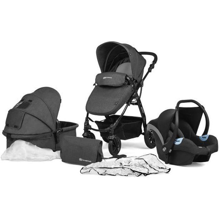 POUSSETTE  Poussette / Landau 3 en 1 bébé combinée multifonct