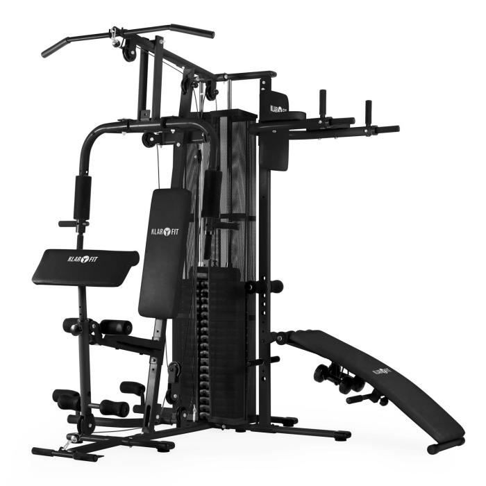 klarfit ultimate gym 5000 station de fitness mu prix pas cher cdiscount. Black Bedroom Furniture Sets. Home Design Ideas