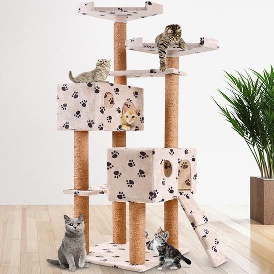 Arbre à chat hauteur 150 cm
