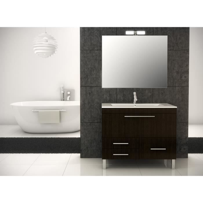 londres meuble de salle de bain weng 100 cm achat. Black Bedroom Furniture Sets. Home Design Ideas