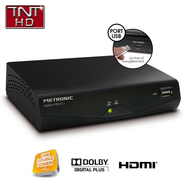 decodeur tnt satellite sortie hdmi. Black Bedroom Furniture Sets. Home Design Ideas