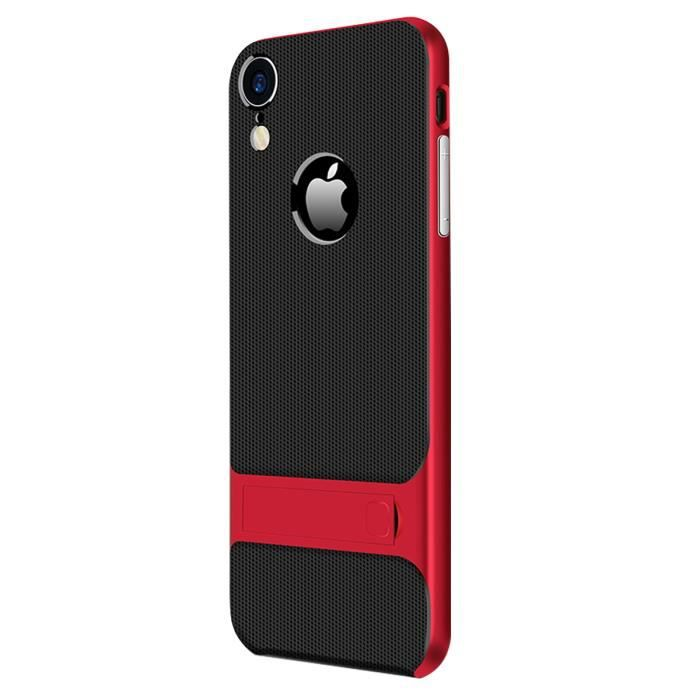 iphone 9 coque hybride antichoc tpu pc bumper dua