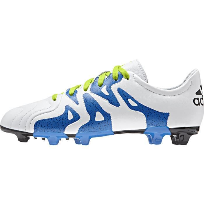 info for b879b f8ae2 Chaussures Junior adidas X 15.3 FG-AG Leather