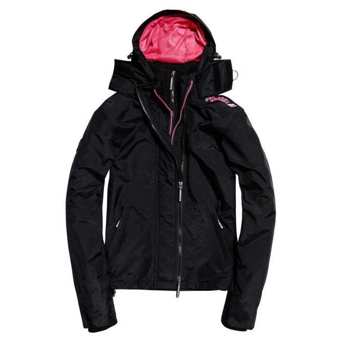 Vêtements femme Blousons Superdry Tech Hood Pop Zip Windcheater