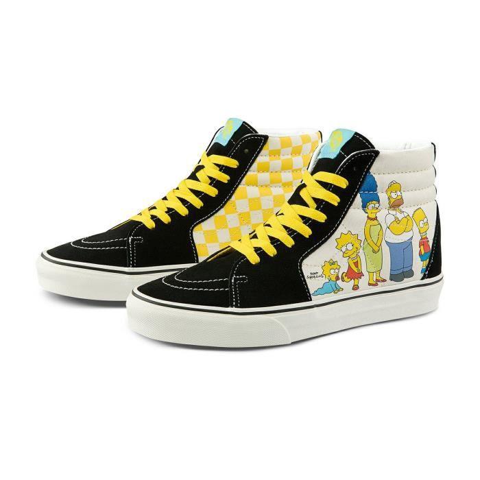 Chaussures 1987-2020 Sk8 Hi The Simpsons x Vans montante Femme ...