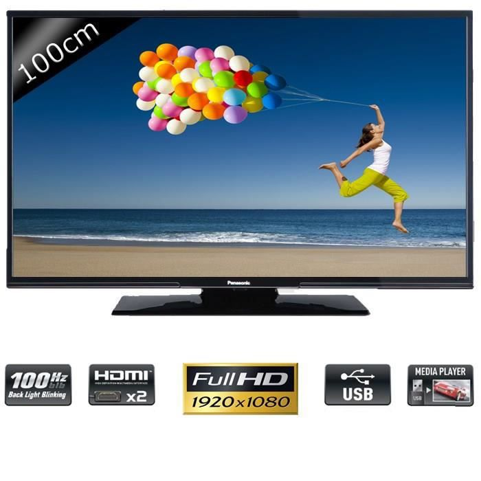 panasonic tx 39a300e tv led full hd 100cm t l viseur led. Black Bedroom Furniture Sets. Home Design Ideas