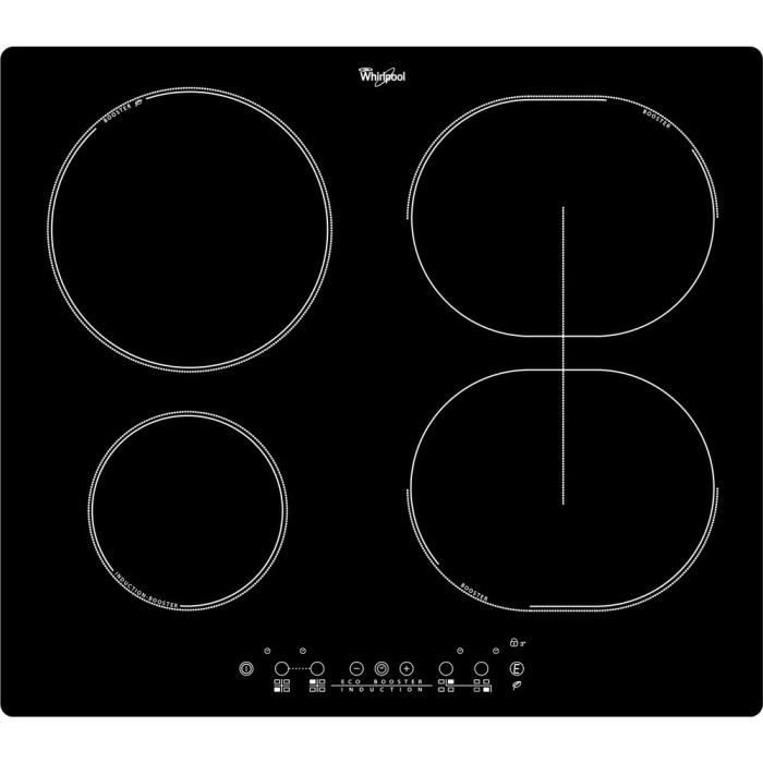 whirlpool acm790ne table de cuisson induction 4 zones achat vente plaque induction cdiscount. Black Bedroom Furniture Sets. Home Design Ideas