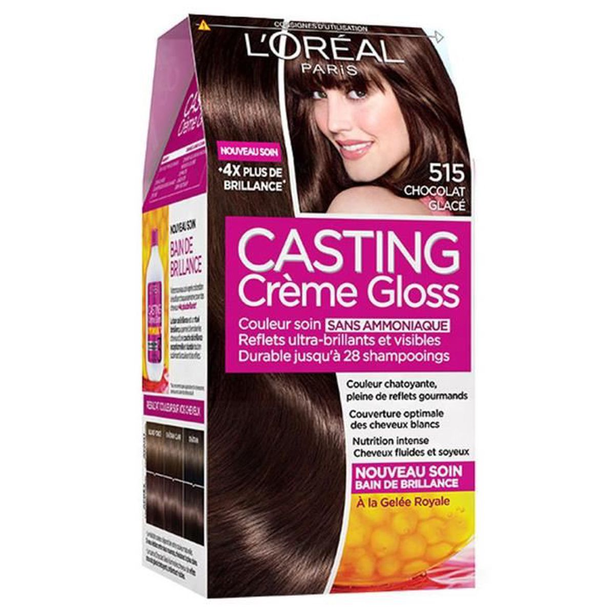 coloration loreal casting crme gloss brownie - Casting Coloration