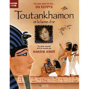 Livre 3-6 ANS Toutankhamon et la larme d'or