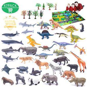 Monde naturel en plastique animaux de ferme 21 pièces figure playset 3 Ans