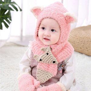 ECHARPE - FOULARD Tout-petits Girls & Boys bébé hiver Crochet Bonnet