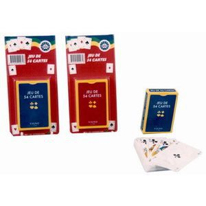 CARTES DE JEU Jeu de 52 cartes + 2 jokers
