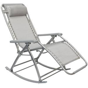 FAUTEUIL JARDIN  Berceuse Chaise longue berçante de AMANKA | Transa